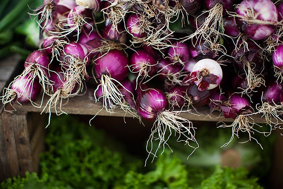 Red onions are full of antioxidants and liven up cold salads, as well as a boring turkey sandwich.