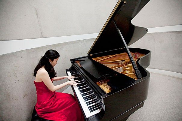 "In a study by Harvard graduate Chia-Jung Tsay (above), nearly all participants — including highly trained musicians — were better able to identify the winners of classical music competitions by watching silent video clips than by listening to audio recordings. ""In this case,"" says Tsay, ""it suggests that the visual trumps the audio, even in a setting where audio information should matter much more."""
