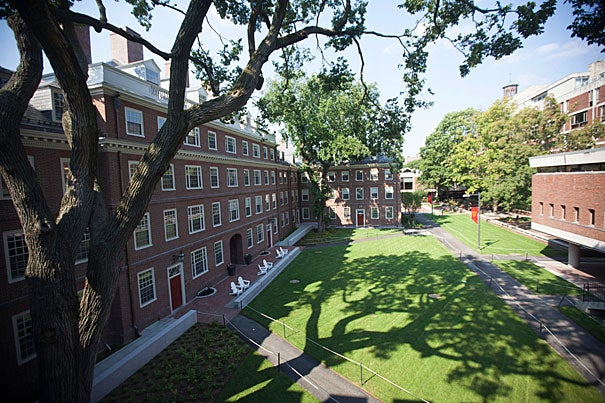 Views of a tour of the newly renovated Quincy house at Harvard University. Kris Snibbe/Harvard Staff Photographer