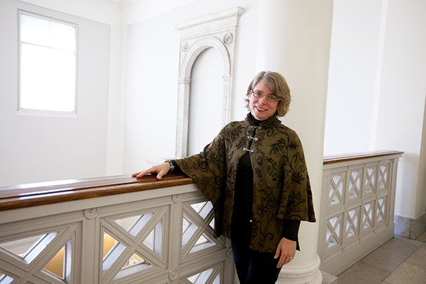 """Jill Lepore, whose latest book is """"Book of Ages: The Life and Opinions of Jane Franklin,"""" will speak at the Radcliffe Institute on Sept. 10."""