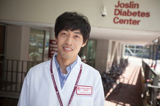 """I want to let students in Korea know, there are so many opportunities to have a great experience here,"" said Hansung Ryu, who recently returned to Seoul after two months interning at the Harvard-affiliated Joslin Diabetes Center. ""I hope they will have this sort of experience."""