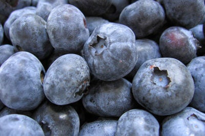 People who ate at least two servings each week of certain whole fruits — particularly blueberries, grapes, and apples — reduced their risk for type 2 diabetes by as much as 23 percent in comparison to those who ate less than one serving per month.