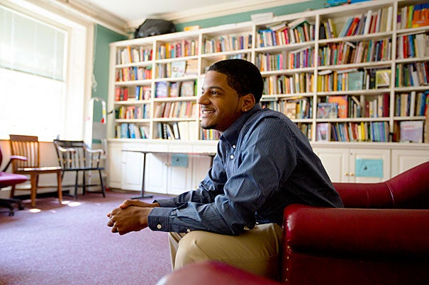 For the past two years, Jorge Santana has directed the Mission Hill Summer Program, a camp he attended when he was 13. Now a junior at Boston University, Santana is the first non-Harvard student to be elected an official of the Phillips Brooks House Association.