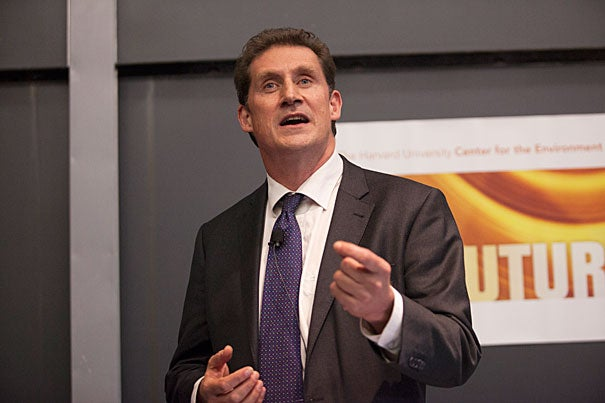 """Ireland … is one of those countries you can point a finger to and say, 'You can de-carbonize an economy and still develop,'"" said Eamon Ryan."