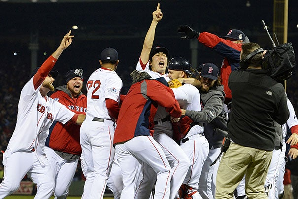 """""""The Red Sox beards were wacky but set them apart. It was a little thing, but it gave players a way to publicly demonstrate their solidarity and camaraderie,"""" said HBS Professor Jeffrey T. Polzer in examining the team's success. """"When you see team members helping each other and having fun together, that's a good sign."""""""