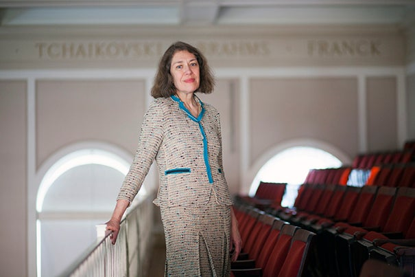 """Carolyn Abbate has been named a University Professor, Harvard's highest honor for a faculty member.  """"The University Professorships recognize crossing boundaries; I will do all I can to be worthy of the challenge inherent in that vision,"""" said Abbate."""