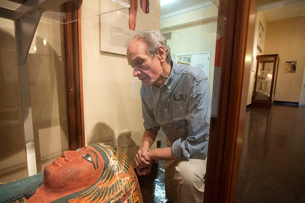 """Egyptomania is still alive and well today,"" said Bob Brier, a Long Island University senior research fellow and Egyptologist. ""You've got mummies that scream immortality. You've got mysterious hieroglyphics that seem beautiful but are indecipherable, and you've got that sense of lost worlds waiting to be discovered."""