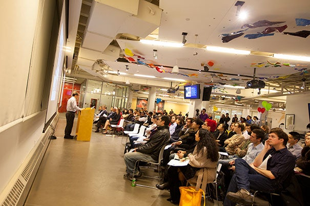 The Deans' Design Challenge: Urban Life 2030, hosted by the i-lab, is the newest challenge, joining the President's Challenge and the Deans' Challenges for Cultural Entrepreneurship and Health & Life Sciences. The challenges offer students from across the University additional avenues to tackle pressing issues in specific disciplines.