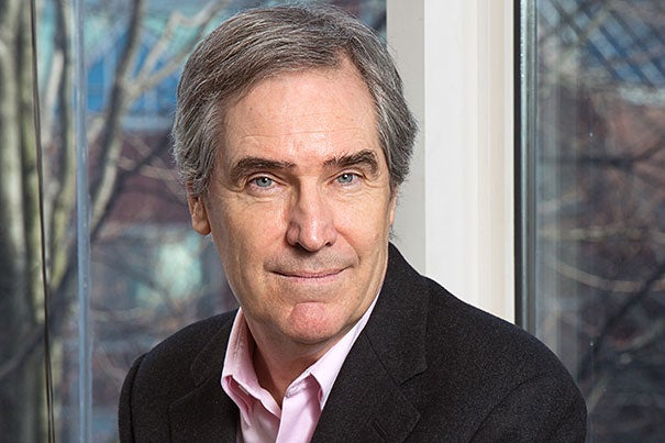 """""""Very few Harvard professors go straight from the classroom into the cold room of electoral politics — Elizabeth Warren's done it and a few others … but rather few run for elective office,"""" said Michael Ignatieff, a former Harvard Kennedy School professor who ran for prime minister of Canada."""