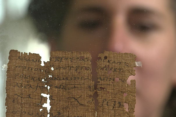 """The HarvardX course module, """"Early Christianity: The Letters of Paul,"""" HDS1554.1x, taught by Laura Nasrallah, explores the context of the Pauline correspondence in the Roman Empire and the impact of these powerful texts today."""