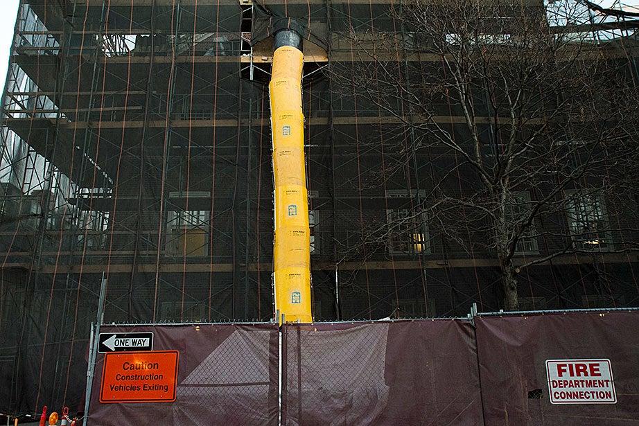 McKinlock under renewal on DeWolfe Street.