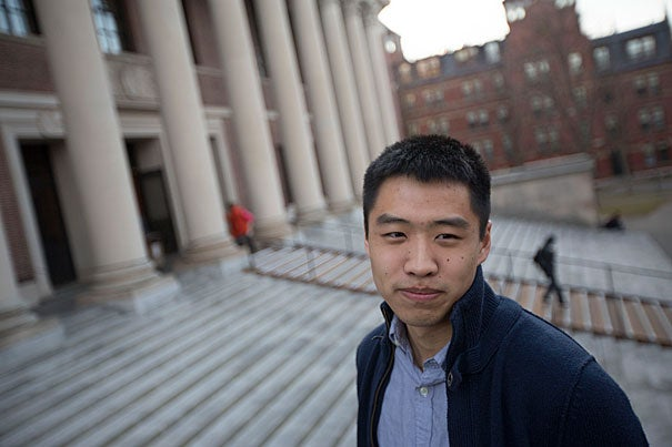 """""""We have only just begun to explore the ways that technology can make things more effective, can allow us to reach more people and prevent disease and suffering to a much greater extent,"""" said Brandon Liu, who was named a Marshall Scholar."""