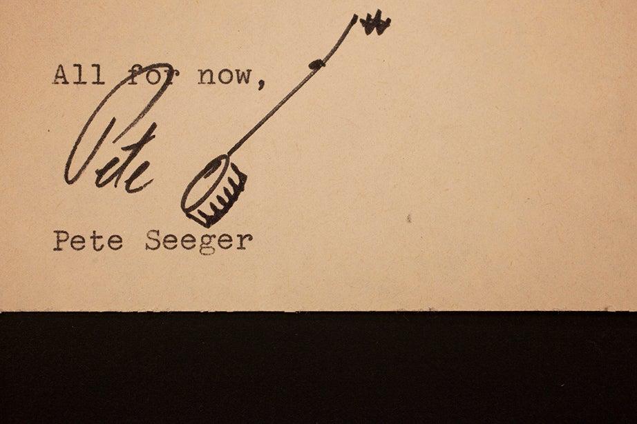 Pete Seeger, 1976