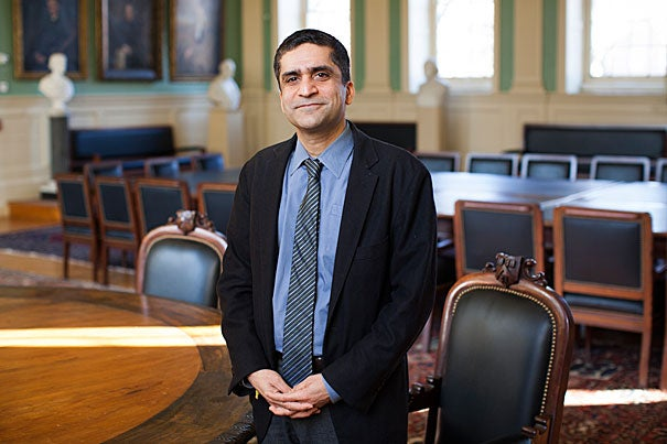 Harvard Professor Rakesh Khurana, who  was praised as a scholar and teacher with deep experience working with undergraduates and a strong commitment to the College, was named dean of Harvard College today by FAS Dean Michael D. Smith.