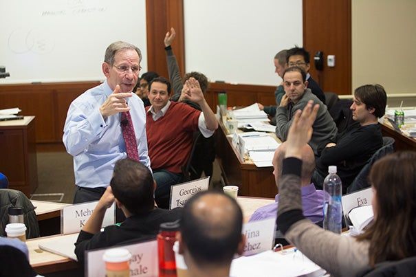 """During a HKS January course,  Professor Gary Orren taught his students """"one of the most important 15 minutes in U.S. history most Americans know nothing about."""""""