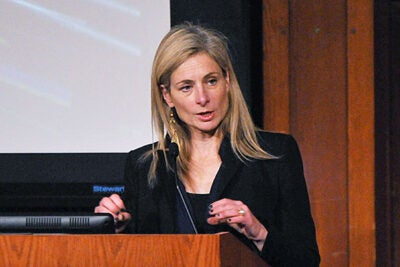 """In a world with many problems where progress isn't always clear, it is wonderful to see science so clearly advance and for us to be able to answer such basic questions that help us better understand our universe,"" said Lisa Randall, the Frank B. Baird Jr. Professor of Science, on the discovery of the Higgs boson."
