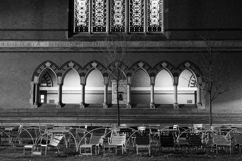 6:27 p.m., Memorial Hall