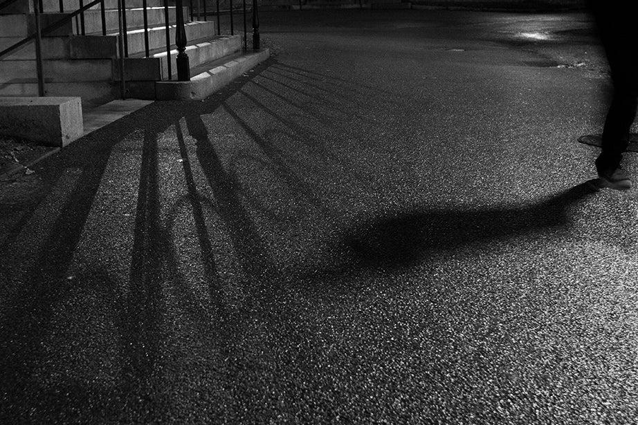 5:50 p.m., Harvard Yard