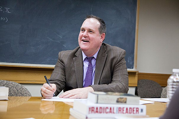 """If you make the humanities available to everyone, everyone has something to say, everyone has something to give, everyone has something to learn,"" said Harvard lecturer Tim McCarthy of the Clemente Course in the Humanities, a free, nationwide course available to individuals experiencing adverse conditions or economic hardship. McCarthy holds the course's first endowed chair."