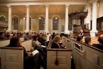 Recent tragedies in the Harvard community brought students, staff, and faculty to Memorial Church for a vigil.