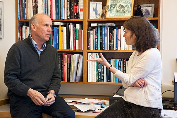 """""""The question we wanted to examine was: Do men or women cooperate differently with members of their own sex?"""" said Richard Wrangham of his study with Emmanuel College Professor Joyce Benenson and Henry Markovits (not pictured)."""