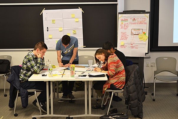Hosted by the Harvard Innovation Lab, the deans' innovation competitions, along with the President's Challenge, give Harvard undergraduates, postdoctoral students, and clinical fellows an opportunity to create and develop solutions that have meaningful impact for people around the world.