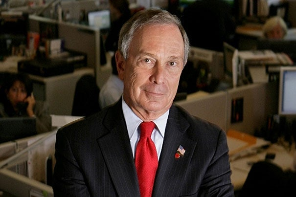 Michael R. Bloomberg, M.B.A. '66, will be the principal speaker at the Afternoon Exercises of Harvard's 363rd Commencement on May 29.
