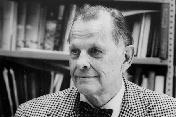 "Richard N. Frye, the Aga Khan Professor of Iranian Studies Emeritus, who was sometimes called ""dean of the world's Iranists,"" passed away on March 27. Frye joined Harvard's faculty in 1948, where he set to work creating the University's Center for Middle Eastern Studies and was named its first chair of Iranian studies in 1957 — a post he held until his retirement in 1990."