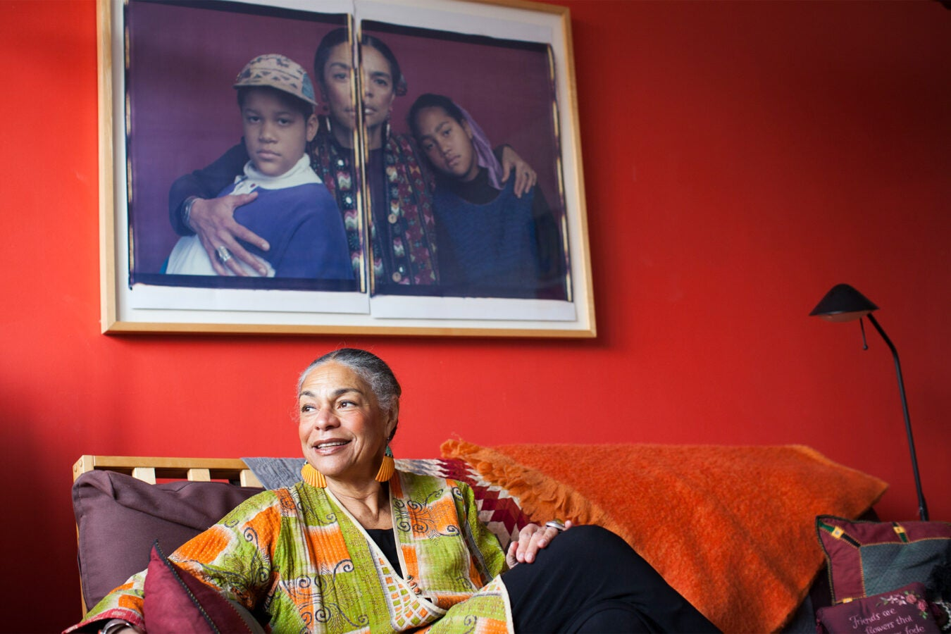 Sara Lawrence-Lightfoot in her home.