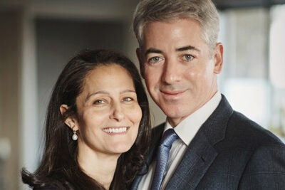"""Supporting innovation and new approaches to creating sustainable change is a vital part of what The Pershing Square Foundation was established to do,"" said Bill Ackman, who founded Pershing Square with his wife, Karen. The Pershing Foundation awarded Harvard $17 million to support its Foundations of Human Behavior Initiative."