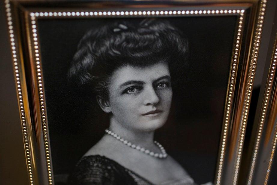 A photograph of Harry Elkins Widener's mother, Eleanor Elkins Widener.