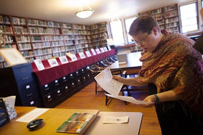 Lisa Pearson is the head of the Arnold Arboretum Library and its archives, which contains 40,000 volumes, covering topics including plant and garden history, plant disease, landscape design, soil science, and dendrology. To scholars around the world, one of the library's major strengths is the fact that its holdings reflect the living collections outside its walls, planted on the Arboretum's grounds.