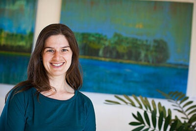 "Elizabeth Wolkovich, a Harvard assistant professor of organismic and evolutionary biology, studies global estimates of how phenology has shifted with climate change. Boston, she said, ""has warmed significantly, about 2.4 degrees C. That means an advance of around 10 to 15 days in the start of spring in the area."""