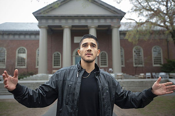 """College was something I thought would be impossible … because there were no examples of people going to college from my neighborhood,"" said Jesse Sanchez."