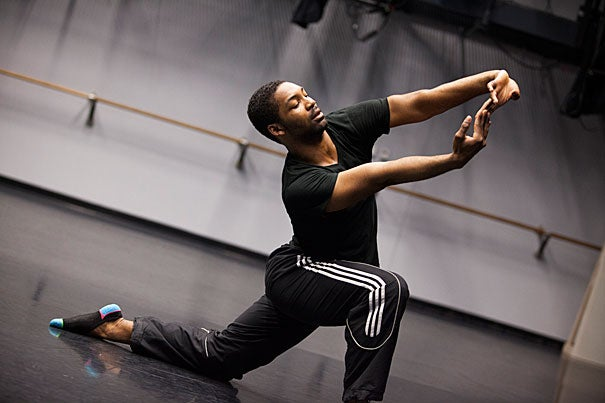 "Rossi Lamont Walter Jr. '14 found a way to work with seemingly disparate interests while at Harvard: history of science, Jewish studies, and dance. ""He has an unlimited desire to explore artistic expression in his dance studies and in areas beyond the field with tireless energy, curiosity, rigor, and focus,"" said Harvard Dance Program Director Jill Johnson."