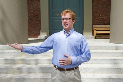 """My thought process was, I've been taking Latin since middle school and I figure I'm going to get nothing out of it unless I did something like this,"" said Timothy Barry-Heffernan, who will deliver the Latin oration."