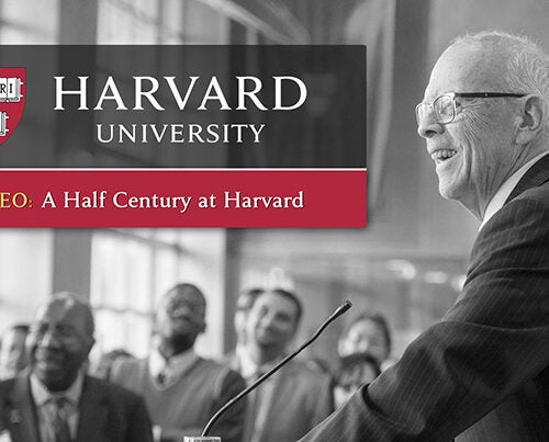 "A video focuses on John P. ""Jack"" Reardon Jr. '60, who will step down as Harvard Alumni Association executive director in July. In it he shares his memories as he looks back on 50 years at Harvard University."