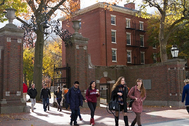 "The Class of 2018 will have a record number of African-Americans (177) and Latinos (185), as well as the second-largest number of Asian-Americans (351) in Harvard's history. ""We are very grateful to the many involved in the Undergraduate Minority Recruitment Program [UMRP] who worked toward these results throughout the year, and especially during the crucial month of April,"" said Roger Banks, director of recruitment and co-director of UMRP."