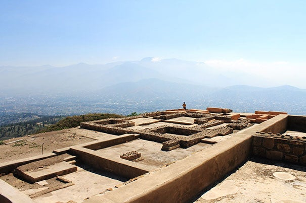 Professor Noreen Tuross is designing a course that will let students explore food and culture through the lens of archaeology at the recently excavated site at Atzompa in Oaxaca, Mexico.