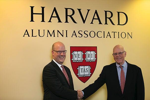 Philip W. Lovejoy (left) will succeed Jack Reardon as HAA executive director on July 1.