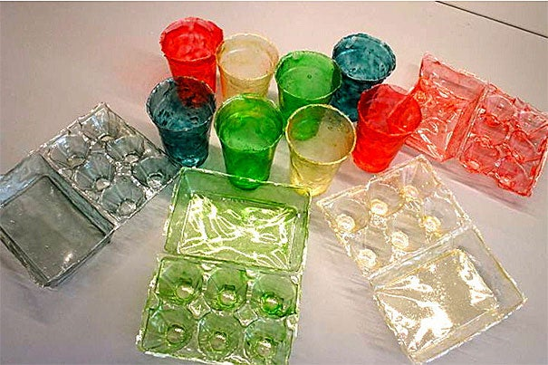 Turning shrimp shells into plastic: Harvard's Wyss Institute comes up with fully degradable bioplastic.