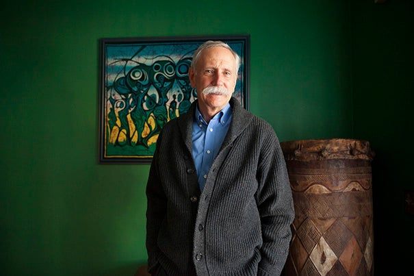 Walter Willett is the Fredrick John Stare Professor of Epidemiology and Nutrition at Harvard School of Public Health. He is pictured in his home in Cambridge. Stephanie Mitchell/Harvard Staff Photographer
