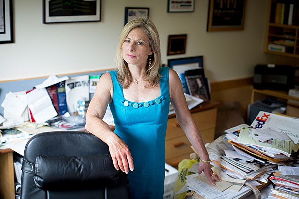 """""""We have some genuinely new ideas,"""" said Lisa Randall, the Frank B. Baird Jr. Professor of Science. """"I'll say from the start that we don't know if they're going to turn out to be right, but what's interesting is that this opens the door to a whole class of ideas that haven't been tested before, and potentially have a great deal of interesting impacts."""""""