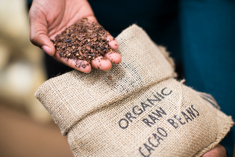 Taza participates in direct trade with organic cocoa farmers in Bolivia, Belize, and the Dominican Republic. Although not used in chocolate production, shells from the beans can be used for tea, mulch, and as a natural termite repellant.