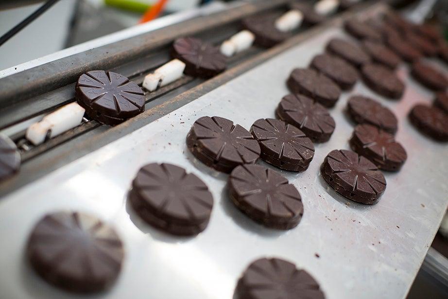 Taza's chocolate is an organic, vegan, dairy- and gluten-free treat.
