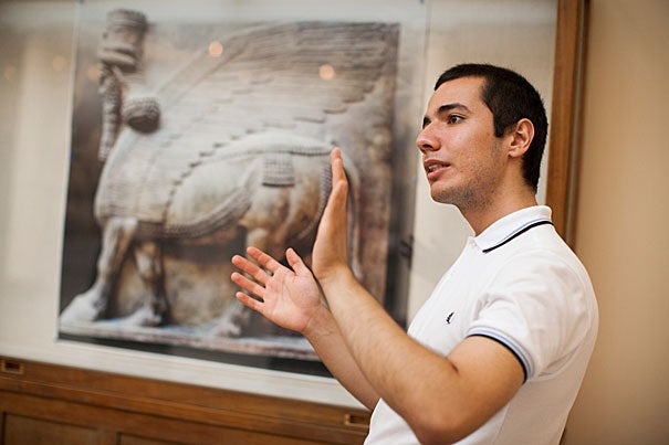 Ozdemir Vayisoglu '16 is one of 11 Harvard undergraduates who worked closely with Harvard faculty and administrators this summer as part of the Summer Humanities and Arts Research Program.