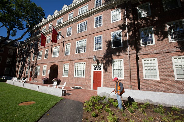 Stone Hall is racking up the accolades. In addition to LEED platinum certification, the preservation of the building's historical character garnered praise from the Cambridge Historical Commission. The interior (photo 2) is sure to please students, as well — it was transformed to better connect the community and provide updated social and academic spaces.