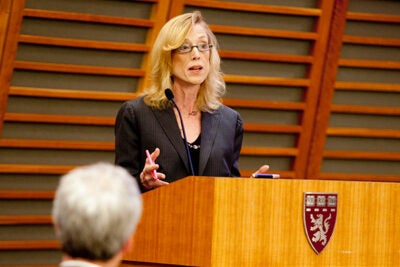 Sue J. Goldie has been named director of the new Global Health Education and Learning Incubator at Harvard University. Goldie was the founding faculty director of the Harvard Global Health Institute.
