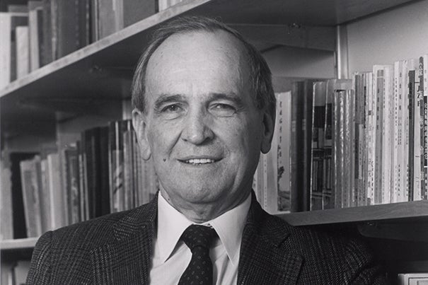 Patrick Dewes Hanan came to Harvard University in 1968. He served with distinction as chair of the Department of East Asian Languages and Civilizations and as director of the Harvard-Yenching Institute. He passed away at 87.