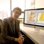 """""""Everyone in the design community was galvanized by Sandy and we absolutely need to work on coastal solutions, but we also have to be mindful that sea level isn't the only threat,"""" said Joyce Klein Rosenthal, an assistant professor of urban design, who says that heat waves also have deadly potential."""